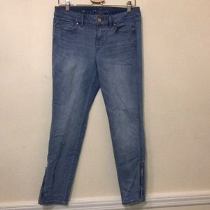 Whbm light wash jeans